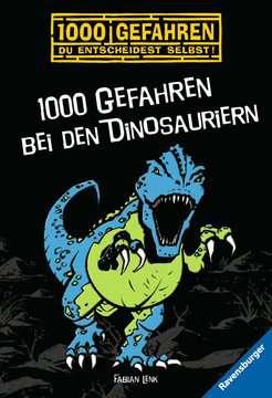 52526 Kinderliteratur 1000 Gefahren bei den Dinosauriern von Ravensburger 1