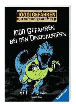 52526 Kinderliteratur 1000 Gefahren bei den Dinosauriern von Ravensburger 2