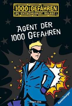 52555 Kinderliteratur Agent der 1000 Gefahren von Ravensburger 1