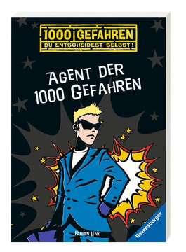 52555 Kinderliteratur Agent der 1000 Gefahren von Ravensburger 2