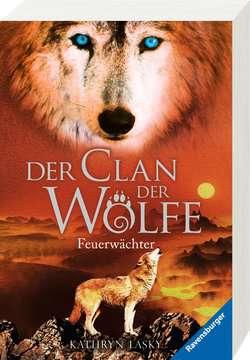 52576 Kinderliteratur Der Clan der Wölfe, Band 3: Feuerwächter von Ravensburger 2