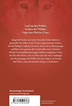 52576 Kinderliteratur Der Clan der Wölfe, Band 3: Feuerwächter von Ravensburger 3
