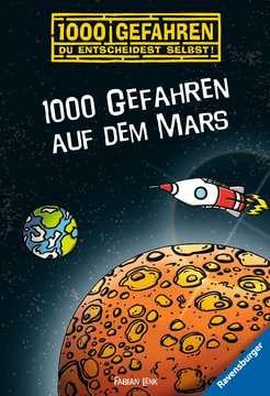 52579 Kinderliteratur 1000 Gefahren auf dem Mars von Ravensburger 1