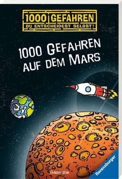 52579 Kinderliteratur 1000 Gefahren auf dem Mars von Ravensburger 2