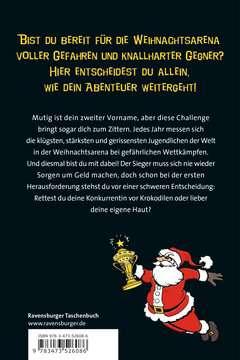 52608 Kinderliteratur Der Adventskalender - Die Weihnachtsarena der 1000 Gefahren von Ravensburger 3