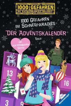 52609 Kinderliteratur Der Adventskalender - 1000 Gefahren im Schneeparadies von Ravensburger 1
