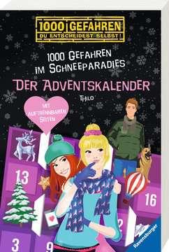 52609 Kinderliteratur Der Adventskalender - 1000 Gefahren im Schneeparadies von Ravensburger 2