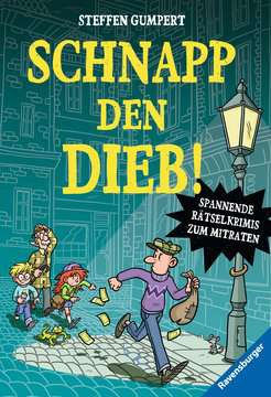 53148 Kinderliteratur Schnapp den Dieb! Spannende Rätselkrimis zum Mitraten von Ravensburger 1
