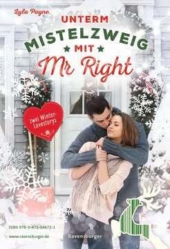 54472 Liebesromane Unterm Mistelzweig mit Mr Right/Zimtküsse am Christmas Eve von Ravensburger 3