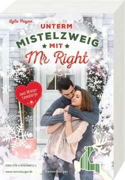 54472 Liebesromane Unterm Mistelzweig mit Mr Right/Zimtküsse am Christmas Eve von Ravensburger 4