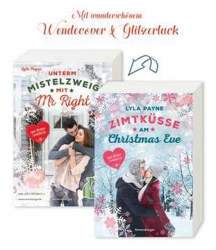 54472 Liebesromane Unterm Mistelzweig mit Mr Right/Zimtküsse am Christmas Eve von Ravensburger 10
