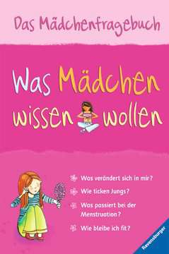 55144 Kindersachbücher Was Mädchen wissen wollen von Ravensburger 1