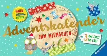 Adventskalender zum Mitmachen Kinderbücher;Lernbücher und Rätselbücher - Bild 1 - Ravensburger