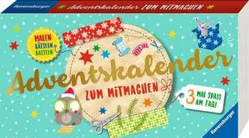Adventskalender zum Mitmachen Kinderbücher;Lernbücher und Rätselbücher - Bild 2 - Ravensburger