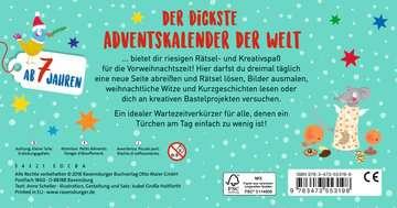 Adventskalender zum Mitmachen Kinderbücher;Lernbücher und Rätselbücher - Bild 3 - Ravensburger