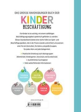 55320 Malbücher und Bastelbücher Das große Ravensburger Buch der Kinderbeschäftigung von Ravensburger 3