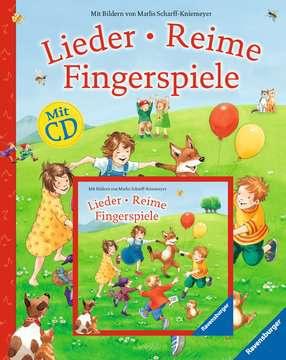 55354 Kindersachbücher Lieder, Reime, Fingerspiele (mit CD) von Ravensburger 1