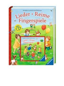 55354 Kindersachbücher Lieder, Reime, Fingerspiele (mit CD) von Ravensburger 2