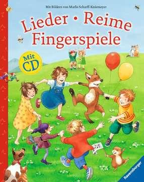 55354 Kindersachbücher Lieder, Reime, Fingerspiele (mit CD) von Ravensburger 4