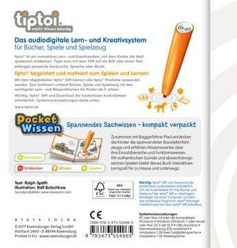 55406 tiptoi® tiptoi® Baustellen-Fahrzeuge von Ravensburger 2