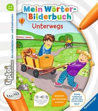 55411 tiptoi® tiptoi® Mein Wörter-Bilderbuch Unterwegs von Ravensburger 1