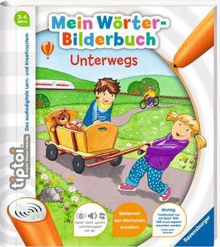 55411 tiptoi® tiptoi® Mein Wörter-Bilderbuch Unterwegs von Ravensburger 2