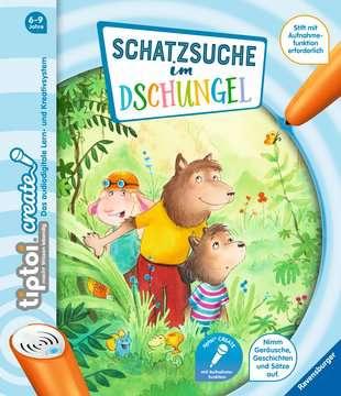 55415 tiptoi® tiptoi® CREATE Schatzsuche im Dschungel von Ravensburger 1