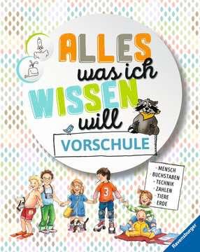 55445 Kindersachbücher Alles was ich wissen will Vorschule von Ravensburger 1