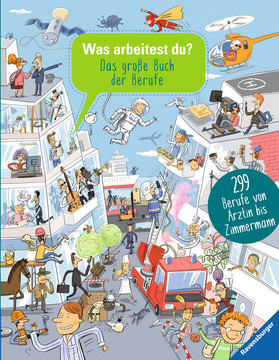 Was arbeitest du? Bücher;Kindersachbücher - Bild 1 - Ravensburger