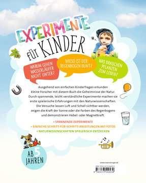 55453 Kindersachbücher Experimente für Kinder von Ravensburger 3