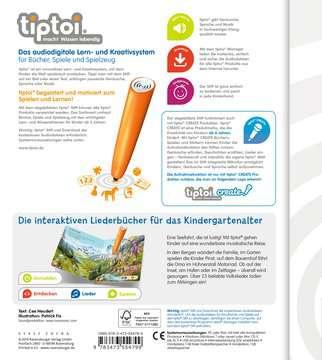 tiptoi® Meine schönsten Lieder für unterwegs Kinderbücher;tiptoi® - Bild 3 - Ravensburger