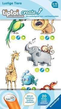 tiptoi® CREATE Sticker Lustige Tiere tiptoi®;tiptoi® Sticker - Bild 1 - Ravensburger