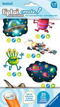 tiptoi® CREATE Sticker Weltall tiptoi®;tiptoi® Sticker - Bild 1 - Ravensburger