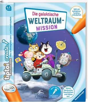 55489 tiptoi® tiptoi® CREATE Die galaktische Weltraum-Mission von Ravensburger 2