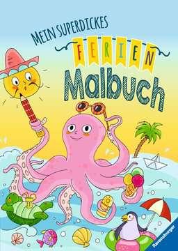 Mein superdickes Ferienmalbuch Kinderbücher;Malbücher und Bastelbücher - Bild 1 - Ravensburger
