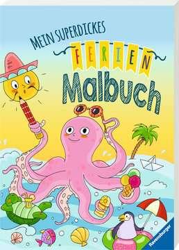 55500 Malbücher und Bastelbücher Mein superdickes Ferienmalbuch von Ravensburger 2