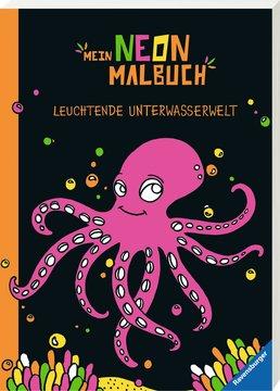 Mein Neon-Malbuch: Leuchtende Unterwasserwelt Kinderbücher;Malbücher und Bastelbücher - Bild 2 - Ravensburger