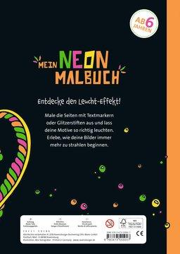 Mein Neon-Malbuch: Leuchtende Unterwasserwelt Kinderbücher;Malbücher und Bastelbücher - Bild 3 - Ravensburger
