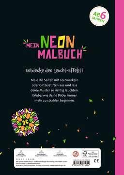 Mein Neon-Malbuch: Cooles Kaleidoskop Kinderbücher;Malbücher und Bastelbücher - Bild 3 - Ravensburger