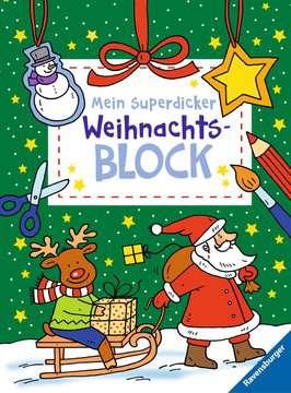 55503 Malbücher und Bastelbücher Mein superdicker Weihnachtsblock von Ravensburger 1