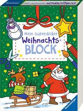 55503 Malbücher und Bastelbücher Mein superdicker Weihnachtsblock von Ravensburger 2