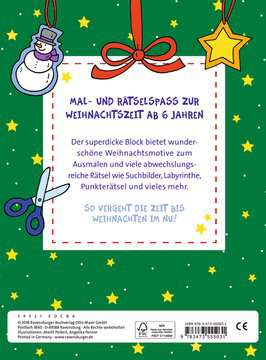 Mein superdicker Weihnachtsblock Kinderbücher;Malbücher und Bastelbücher - Bild 3 - Ravensburger