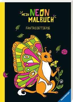 55504 Malbücher und Bastelbücher Mein Neon-Malbuch: Fantasietiere von Ravensburger 2