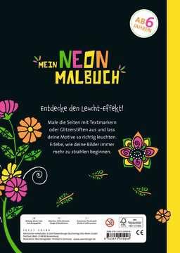 55504 Malbücher und Bastelbücher Mein Neon-Malbuch: Fantasietiere von Ravensburger 3