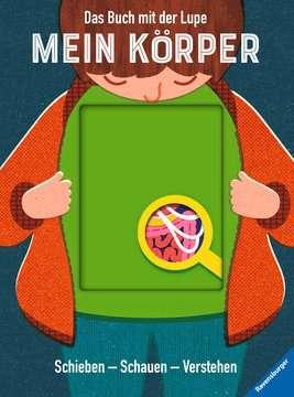 55507 Kindersachbücher Das Buch mit der Lupe: Mein Körper von Ravensburger 1