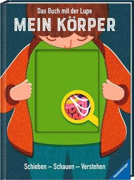 55507 Kindersachbücher Das Buch mit der Lupe: Mein Körper von Ravensburger 2