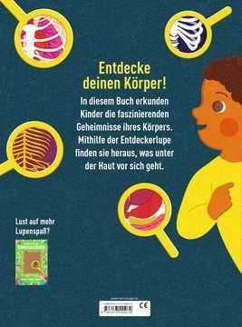 55507 Kindersachbücher Das Buch mit der Lupe: Mein Körper von Ravensburger 3