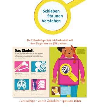 55507 Kindersachbücher Das Buch mit der Lupe: Mein Körper von Ravensburger 5