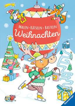 Malen - Rätseln - Basteln: Weihnachten Kinderbücher;Malbücher und Bastelbücher - Bild 1 - Ravensburger
