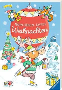 Malen - Rätseln - Basteln: Weihnachten Kinderbücher;Malbücher und Bastelbücher - Bild 2 - Ravensburger